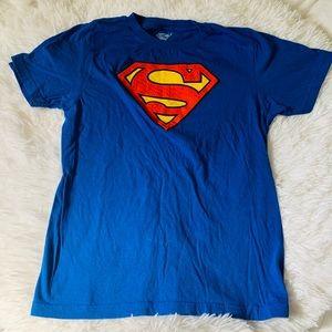 Boys Superman shirt size 8